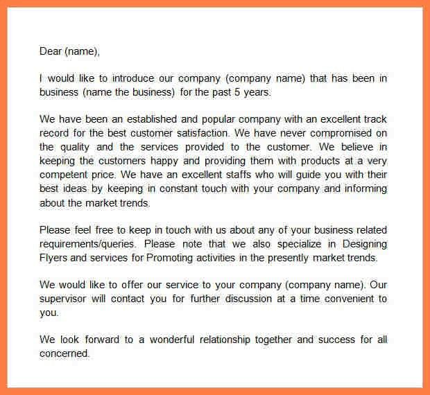 8+ sample of company profile letter | Company Letterhead