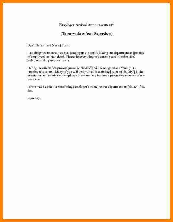 magareth employee announcement. personnel announcement. letter ...