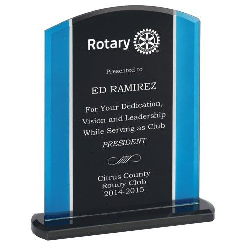 Plaques and Awards for your Rotary Club
