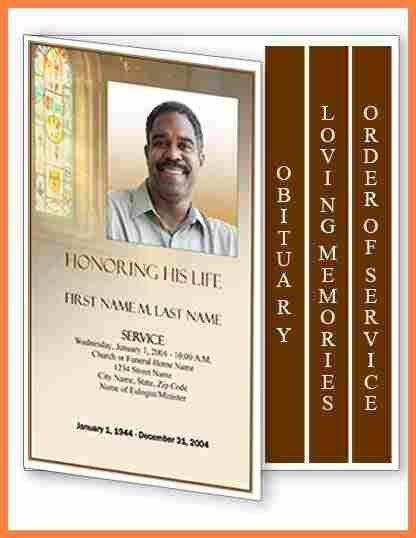 7+ obituary programs | Invoice Example 2017