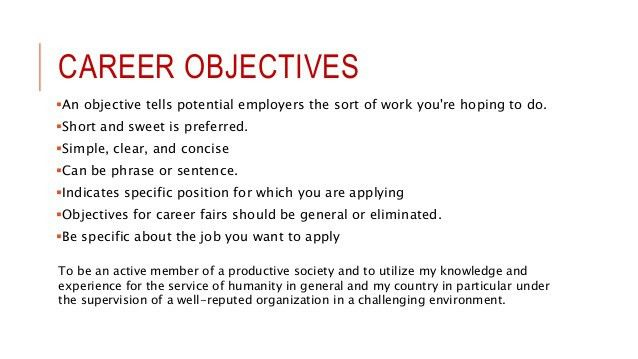 effective resume objectives interviewing is it a good idea to put ...