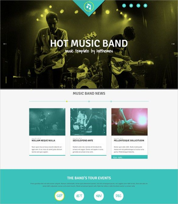 40+ Music Joomla Themes & Template | Free & Premium Templates