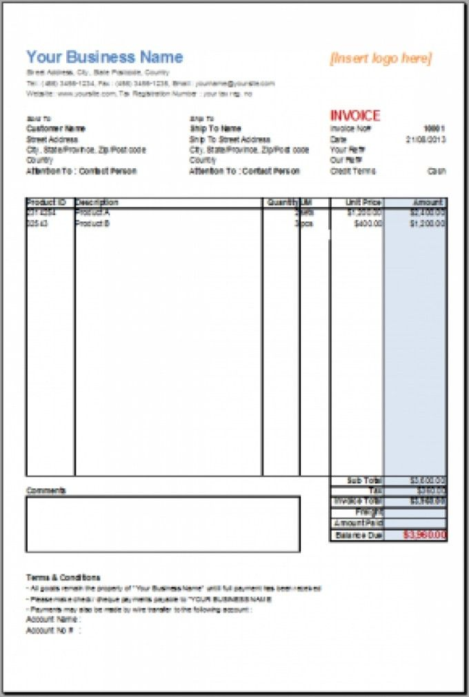 Office Receipt Template Menu Templates Free Microsoft Invoice with ...