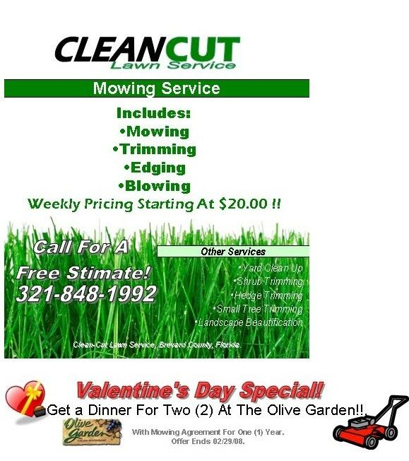 Lawn Care Flyer Template Free - vnzgames
