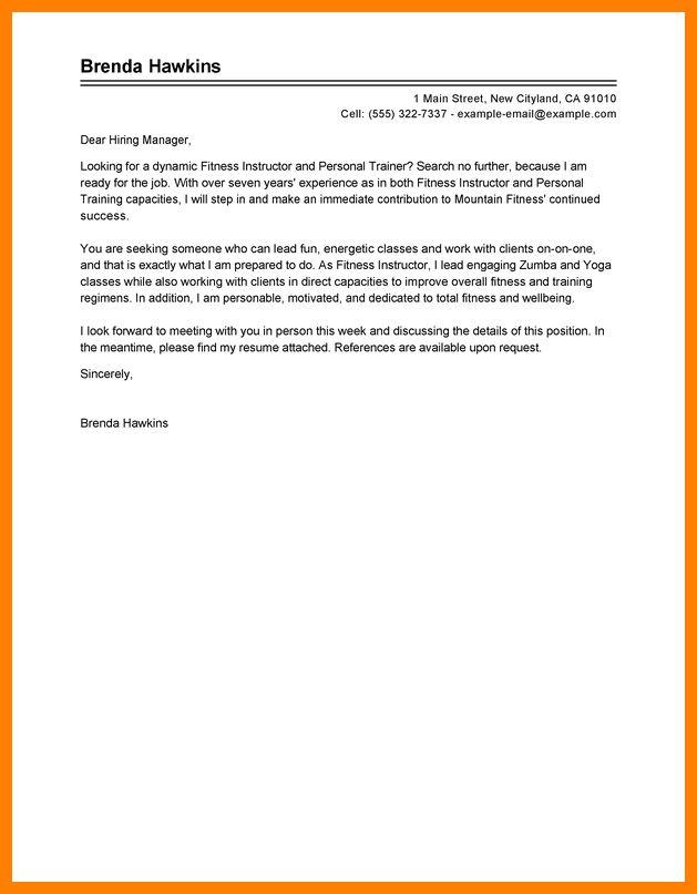 7+ personal trainer cover letter | billing clerk resume
