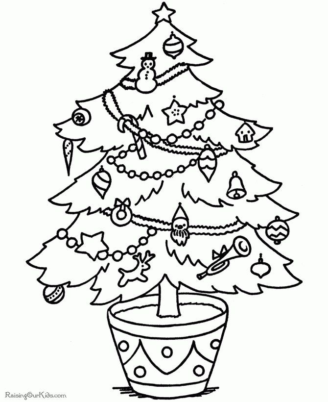 Printable Christmas Trees – Happy Holidays!