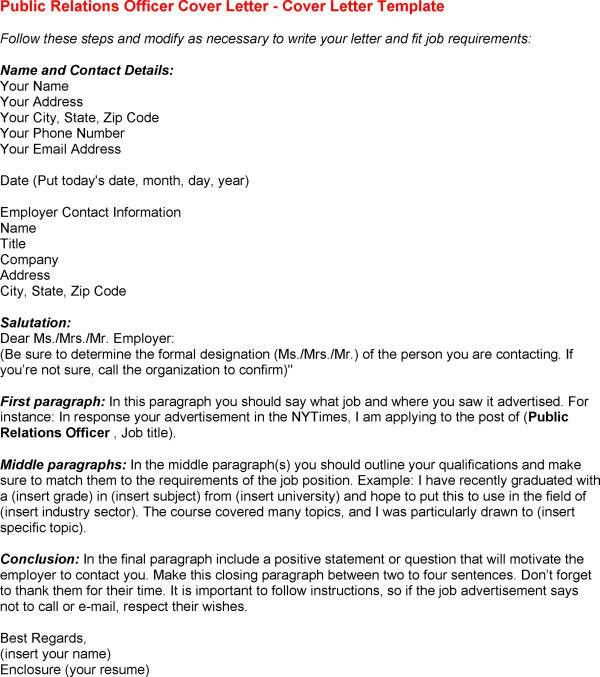 Public Relations Cover Letter] Collection Of Solutions Public ...