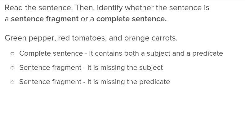 Fragment or Sentence? | Lesson Plan | Education.com