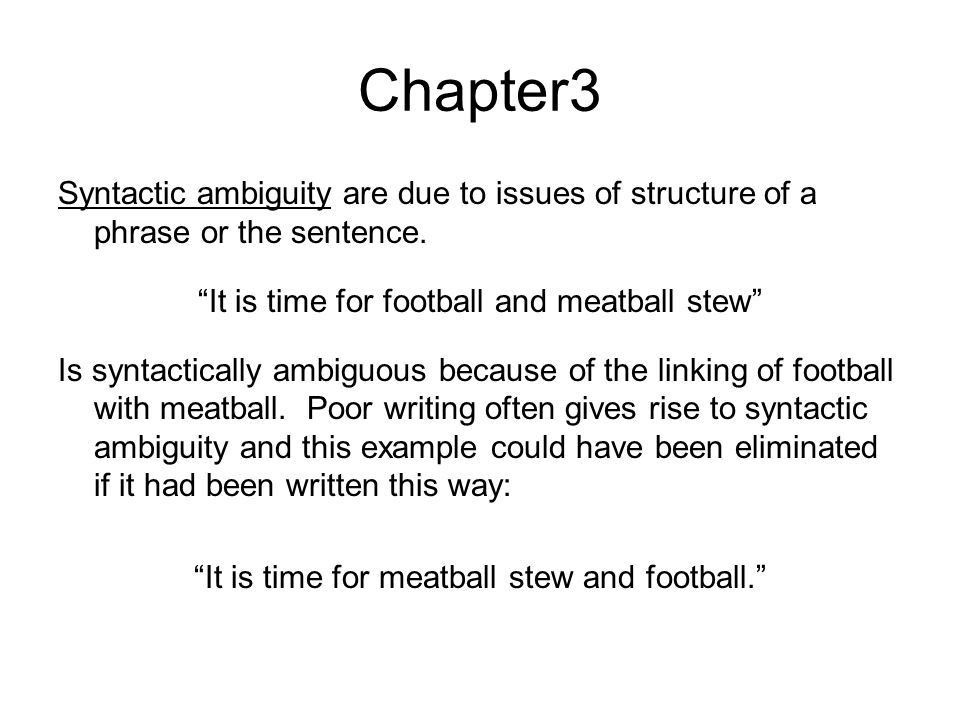 Chapter 3: Lecture Notes Looking at Language. Chapter 3: Looking ...