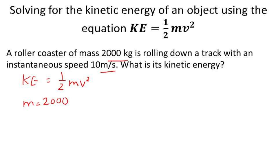Kinetic Energy ( Video ) | Physics | CK-12 Foundation