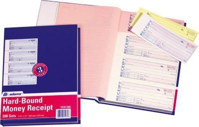 3-Part Money/Receipt Books | Quill.com