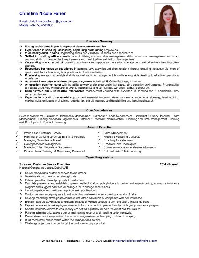customer support executive resume customer care executive resume