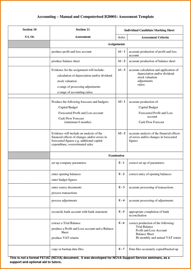 Accounting Balance Sheet Template Authorization Letter Pdf By ...