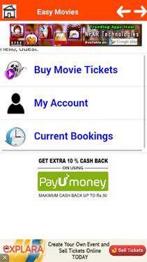 Easy Movie Ticket Booking Download - Easy Movie Ticket Booking 1.3 ...