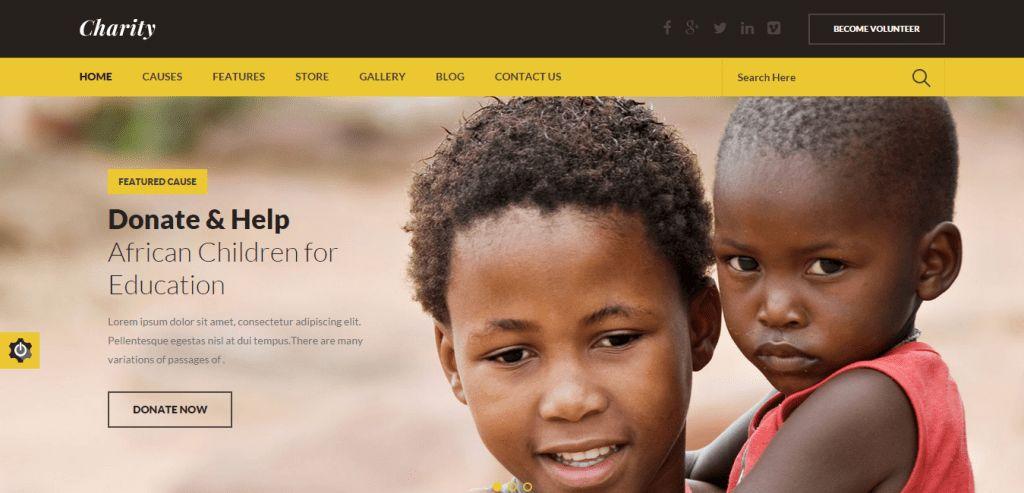 50 Best Charity Non Profit HTML Templates | Weelii