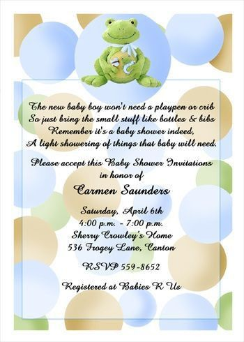 123 best Baby Shower Party Invitations images on Pinterest | Baby ...