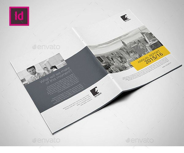 25+ Annual Report Brochure Templates