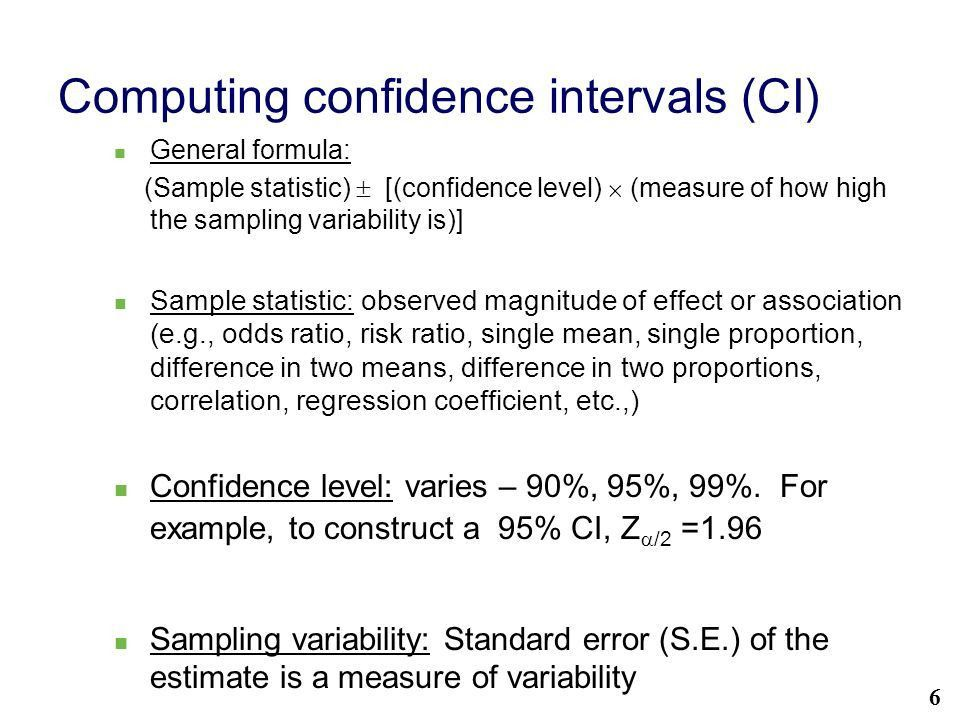 Statistical significance using Confidence Intervals - ppt video ...