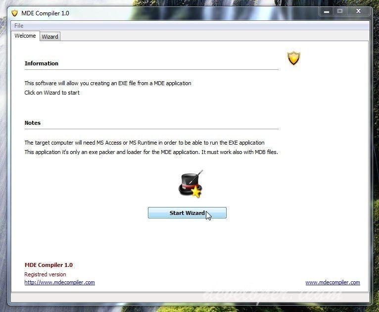 MDE COMPILER 1.1 Convert Access to EXE » Developer Team :: Best ...