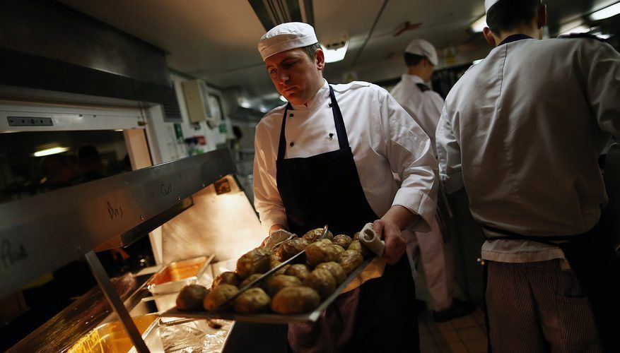 The Average Salary of a Cruise Line Chef | Bizfluent