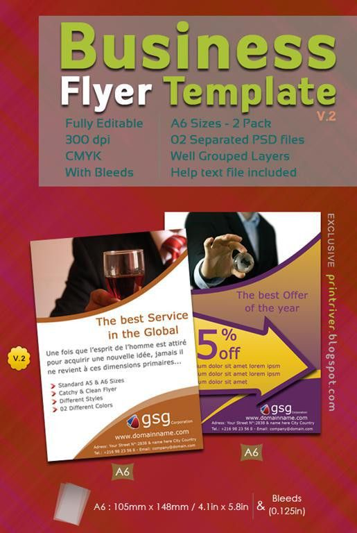 35 Attractive Free Flyer Templates and Designs for Inspiration ...