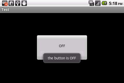 Android SDK: Toggle Button Example