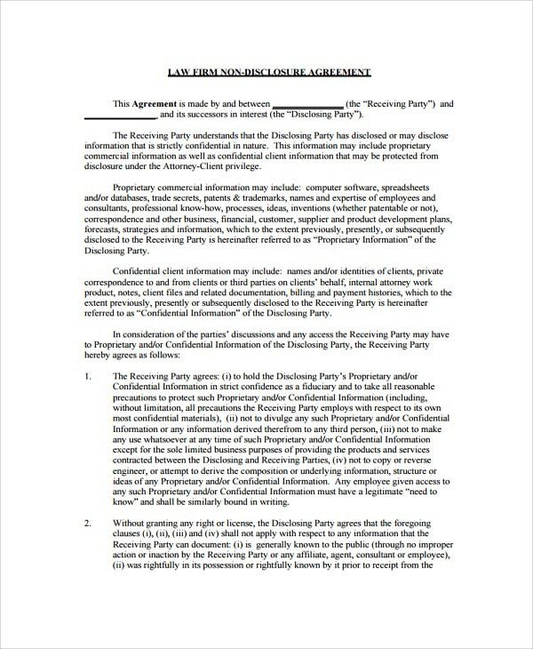 Sample Employment Confidentiality Agreement - 9+ Documents in PDF ...