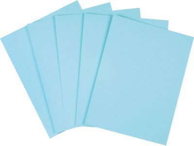 "Staples Pastel Colored Copy Paper, 8 1/2"" x 11"", Blue, 500/Ream ..."