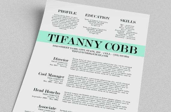 Free Resume Templates For Word 2010. Word Resume Template Free ...