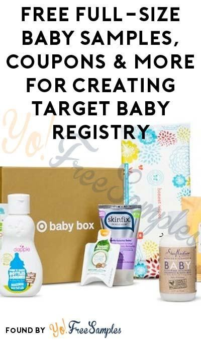FREE Full-Size Baby Samples, Coupons & More For Creating Target ...
