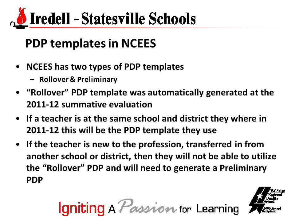 Teacher's PDP for the School Year October, ppt download