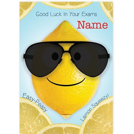 Exam Good Luck - SpaceHippo.cards