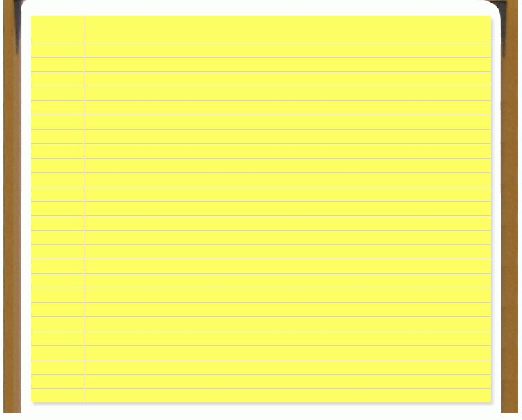 Yellow Notebook Paper Background Images & Pictures Becuo, Notepad ...