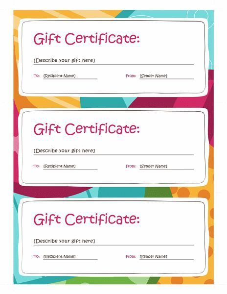 Best 25+ Free gift certificate template ideas on Pinterest ...