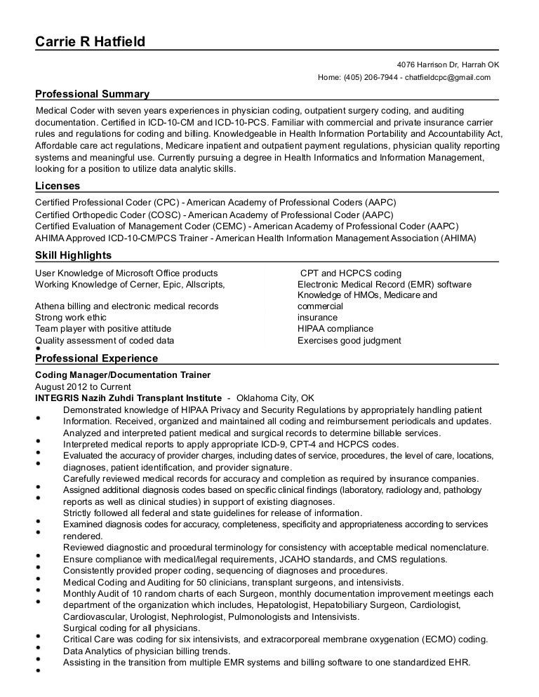 Carpenter Apprentice Resume - Contegri.com