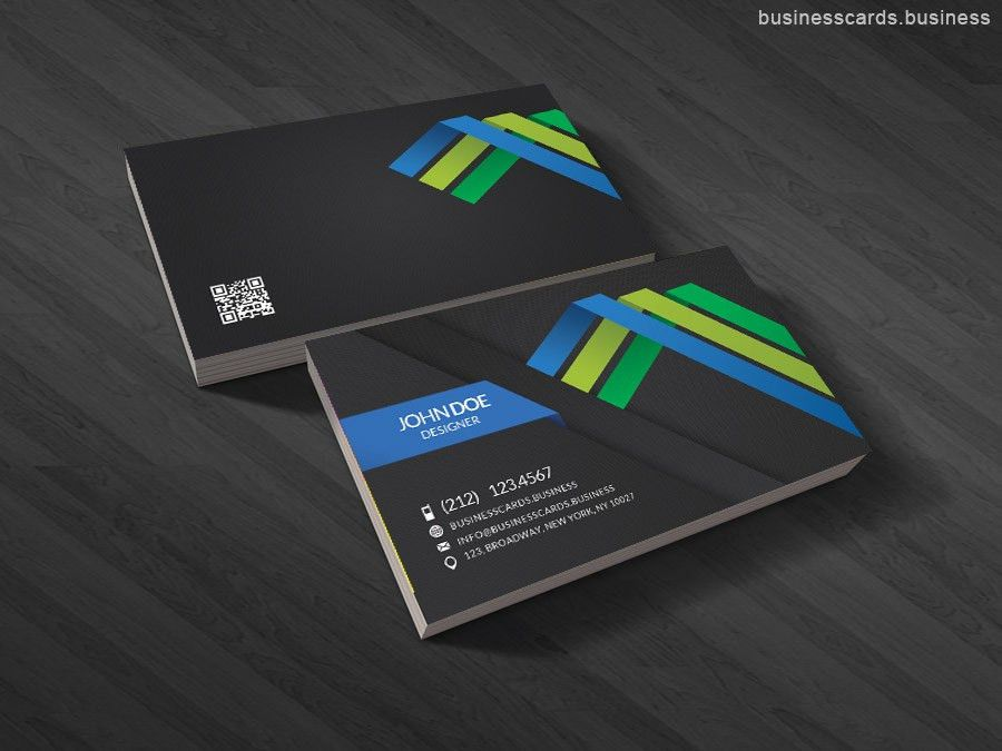 Free Professional 3D Business Card Template for Photoshop ...