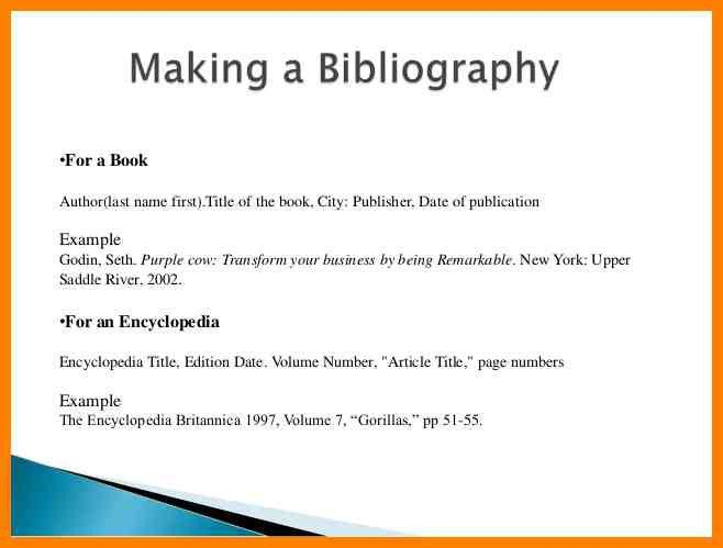 5+ bibliography examples | resume pictures