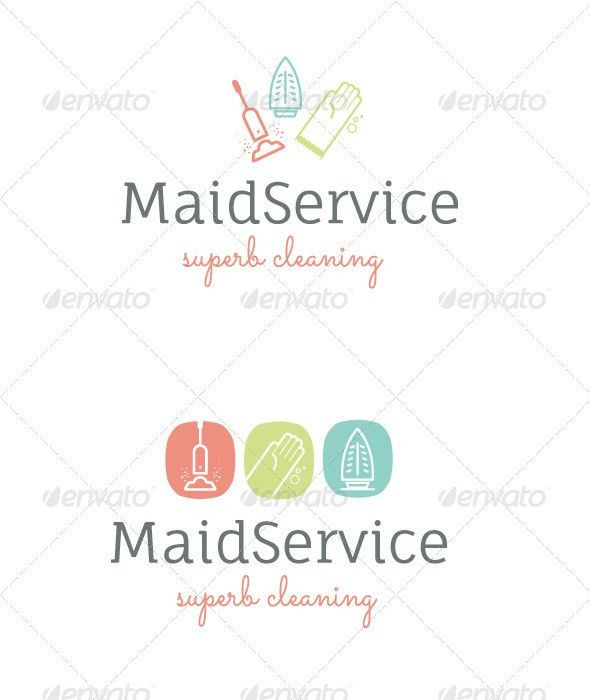 House Cleaning Service Logo | House cleaning services, Cleaning ...