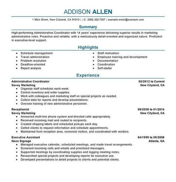 make my resume for me