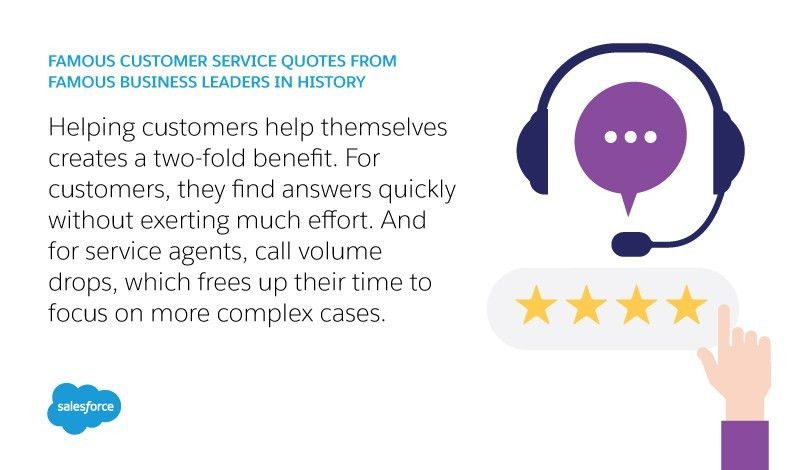 27 famous quotes about customer service from CEOs & business ...