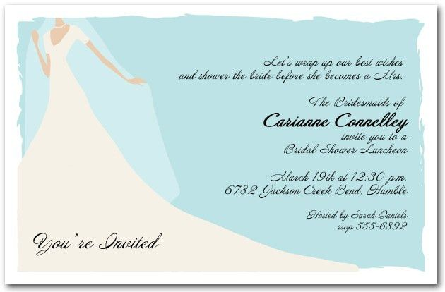Free Templates For Bridal Shower Invitations | Bridal Shower ...