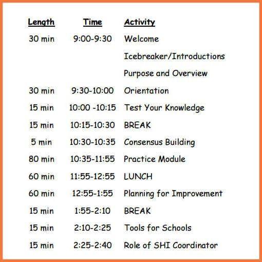 free agenda templates | bio letter sample