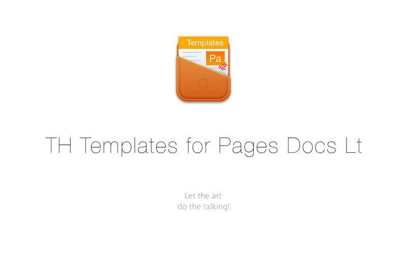 TH Templates for Pages Docs Lt on the Mac App Store