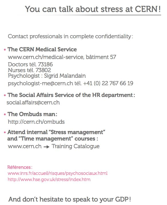 Useful documents | CERN Medical Service