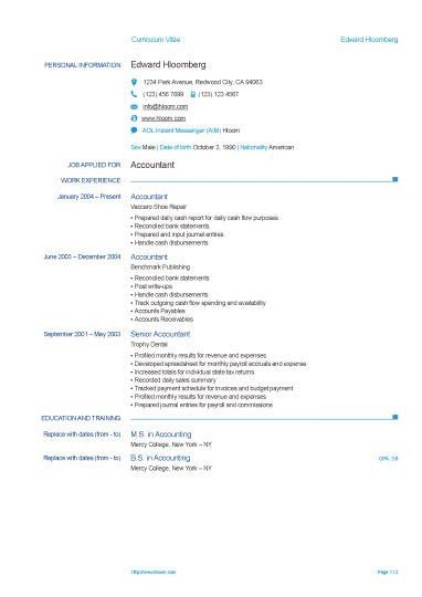 Resume Sample Word   Experience Resumes