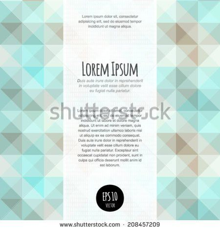 Vector Lights Abstract Background Business Blank Stock Vector ...