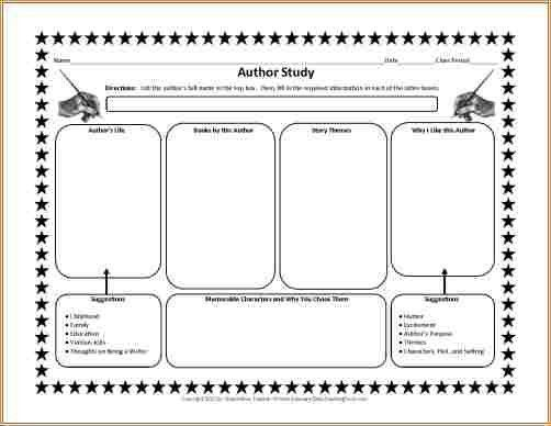 About the author template for students - Business Proposal ...