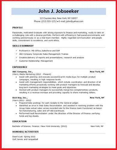 executive classic format resume template best business templates ...