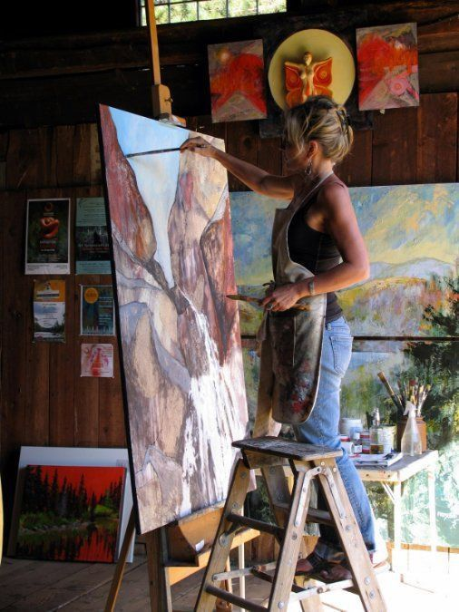 275 best Artists At Work images on Pinterest | Artist studios ...
