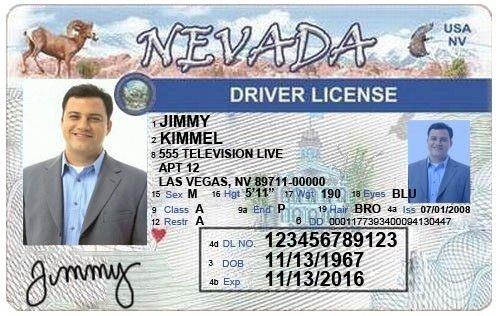 Nevada Driver's License Editable PSD Template Download - $5.00 ...